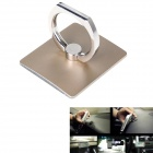 Metal Ring Style Alloy Desktop Car Stand Holder for Mobile Phone / Tablet PC - Champagne Gold