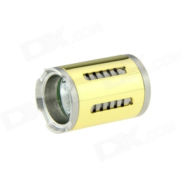 XM-L2 T6 LED tête de la lampe de poche 3-Mode - d'or (510 batterie e-cigarette)