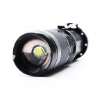 ZHISHUNJIA SK98-T6 900lm LED 5-Mode hvit zooming lommelykt (1 * 18 650)