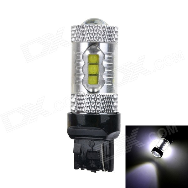 Marsing T20 80W 5000lm 6500K Hvit 16-XPE LED Car Lamp (12 ~ 24V)