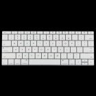 "ENKAY Translucent Silicone Keyboard Film for MacBook 12"" - White"