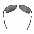 UV400 Protection High Nickel Alloy Frame Polarized Sunglasses - Black