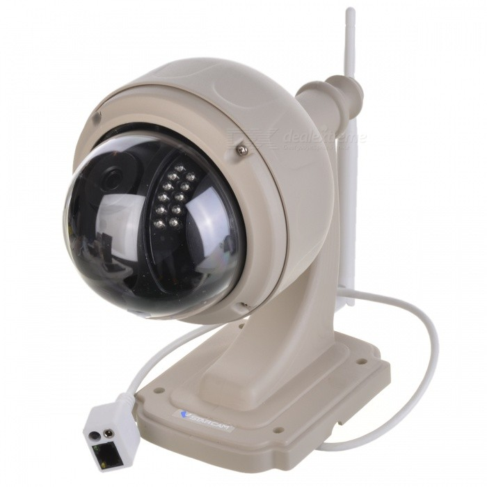 VSTARCAM 720P 1.0MP PTZ Security IP Camera w/ TF Slot - White (EU)