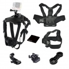 Fetch Dog Harness Chest Fetch Strap Camera Mount and Chest Strapheadband for Gopro Hero4/3+/3/2/1
