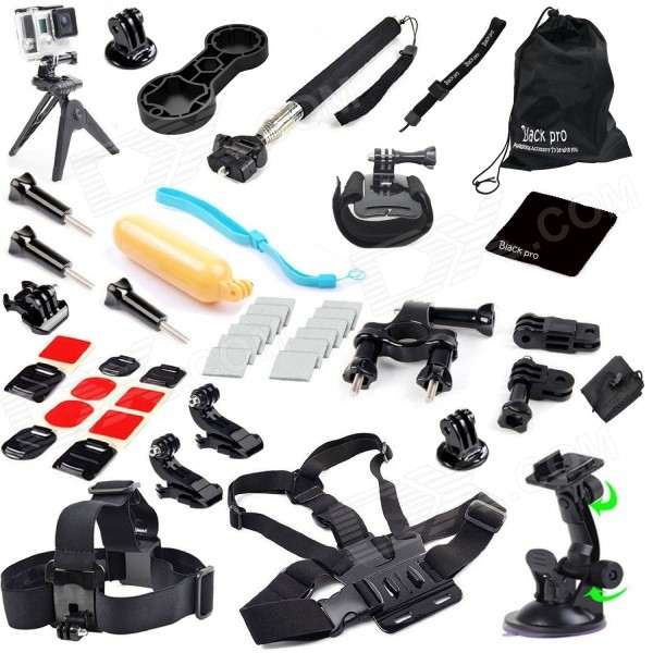 41-In-1 Accessories Kit for GoPro Hero 4 / Hero HD 3+ 3 2 1 - Black