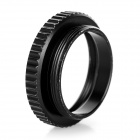 C to CS 5mm Lap Camera Interface Adapter Ring - Black