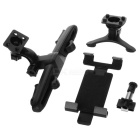 Universal Car Air Outlet Holder + Seat Pillow Mount for Tablet - Black