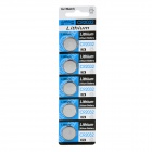 3V CR2032 Lithium Button Batteries - Silver (5 PCS)
