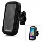 MINI SMILE Bicycle Mount Sport Bag for Samsung GALAXY S6/GALAXY S6 Edge - Black