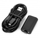 2-in-1 Charging Cable + 1400mAh Li-polymer Battery for XBOX ONE