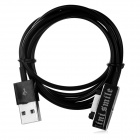 Mini smile USB 2.0 to Magnetic Charging Cable for Sony Z3 / Z3 Mini - Black (100cm)