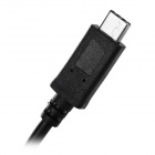 USB 3.1 Type C to Right Angle USB 3.0 Cable - Black (100cm)