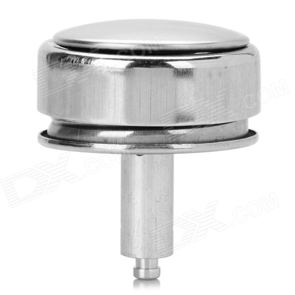 Stainless Steel Cap Cover for Medical Alcohol Bottle - Silver