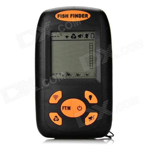 xf-01 portable sonar lcd fish finder