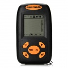 "Wired 2.3"" LCD Screen Digital Fish Finder w/ Probe - Black + Orange (4 x AAA)"