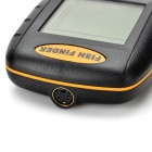 "2.3"" LCD Screen Digital Fish Probe Detector - Black + Orange (4 * AAA)"