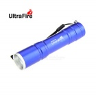 Ultrafire H-01 XP-E Q5 LED 500lm 5-Mode Zooming Flashlight - Blue (1 x 18650)