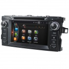 "LsqSTAR 7"" Android 4.4 Car DVD Player w/ GPS, Bluetooth, Wi-Fi, FM, SWC, AUX for Toyota Corolla 2012"