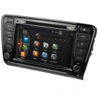 "LsqSTAR 8"" Android4.4 Car DVD Player w/ GPS Wi-Fi FM IPOD Bluetooth Canbus SWC AUX for Skoda Octavia"