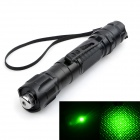 Marsing 303 High Power 532nm Starry Sky Green Laser Pointer Flashlight w/ Star Head - Black