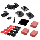Multi-purpose Outdoor Sports Sportsman Mount Accessories Kit for GoPro Hero 4 / 3+ / 3 / 2 - Black
