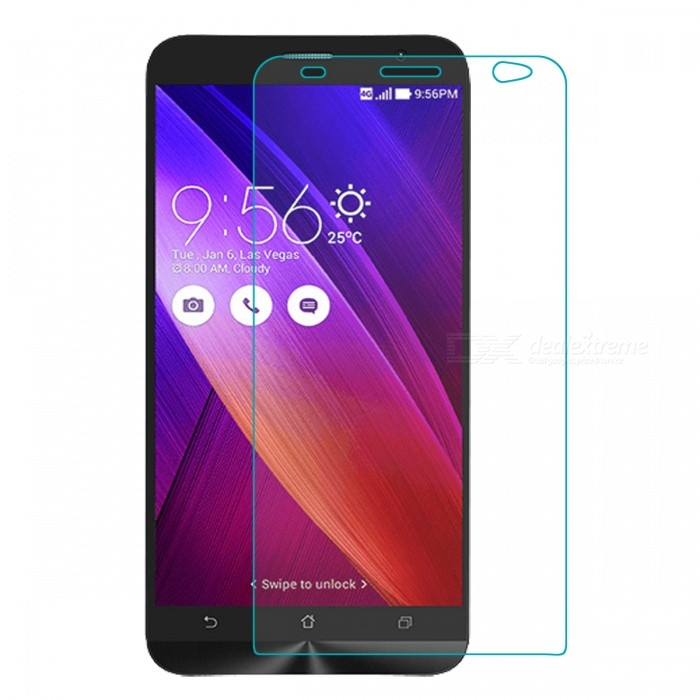 Mr.northjoe 0.3mm 2.5D 9H Tempered Glass Screen Guard Protector for Asus ZenFone 2 (ZE551ML) 5.5Screen Protectors<br>Form  ColorTransparentScreen TypeGlossyModelN/AMaterialTempered glassQuantity1 DX.PCM.Model.AttributeModel.UnitCompatible ModelsAsus ZenFone 2 (ZE551ML) 5.5Packing List1 x Tempered glass protector1 x Cleaning cloth 1 x Dust cleaning film1 x Alcohol prep pad<br>
