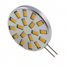 G4 6W 480lm 3000K 18-SMD LED Corn Lamp Warm White Light (10~30V)