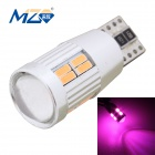 MZ T10 4W 300lm 20-SMD 4014 LED Pink Light Decode Car Clearance Lamp (12~18V)