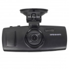 "2.7"" LCD Full HD 1080P 60FPS 170' Wide Angle Night Vision Car DVR Camcorder w/ 1GB DDR3, Without CPL"