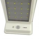 IN-Color 3-in-1 LED Solar Lamp w/ Motion, Sound, Light Sensor - Silver