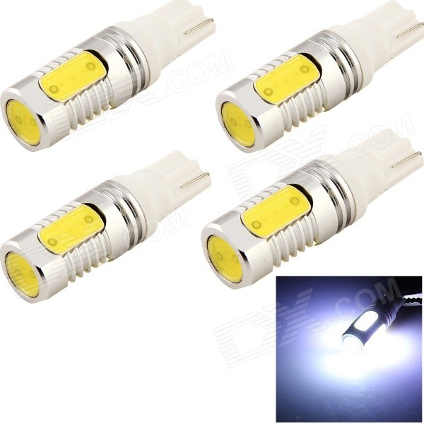 YouOKLight T10 8W 720lm 4-LED Lampe de voiture blanche (12V / 4PCS)