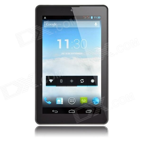 PIPO T3 quad core Android 4.2 3G tablet w / 1GB RAM, 8GB ROM - zwart