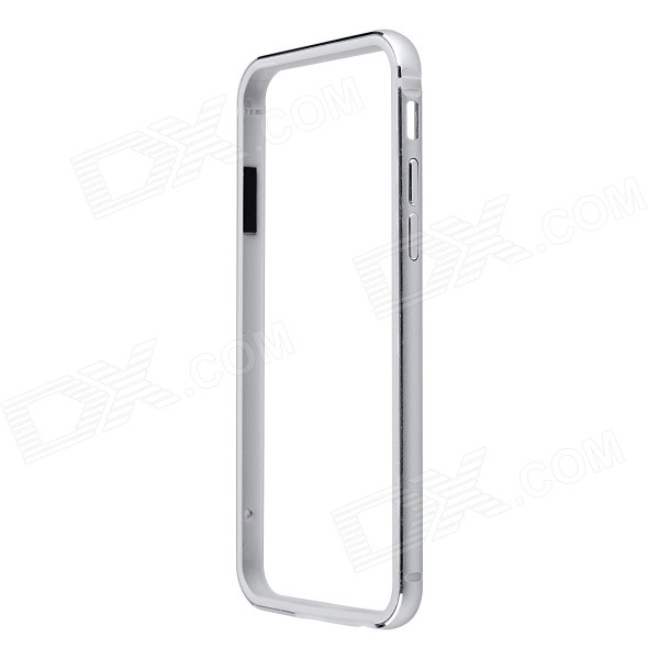 Ultrathin Aluminum + Silicone Bumper Frame Case for IPHONE 6 - Silver