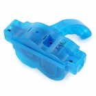 Bicycle Chain Cleaning Machine w/ Brush Comb - Blue + Black