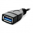 USB 3.1 Type-C to USB 3.0 Female OTG Adapter Cable - Black