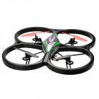 "Wltoys 5.8G 4-CH quadcopter w / altura do barómetro, 6-Axis giroscópio, 4.5"" monitor, 2.0MP cam"