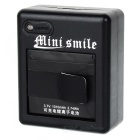 Mini Smile Battery Charger + 1010mAh Battery + Charging Cable - Black