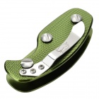 EDCGEAR Aluminum Alloy Key Holder Case w/ Clip - Green
