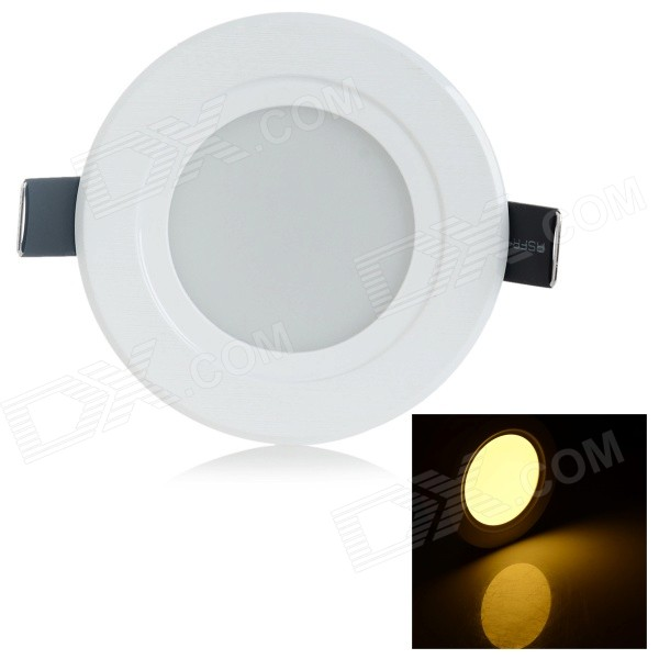 7W LED Ceiling Light Warm White 3000K 268lm SMD 5730 - White (220V)