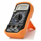 "HYELEC MAS830 Digital 1.8"" LCD Multimeter w/ Manual Range, Diode Test - Black + Orange"