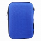 "Protective Hard Shockproof Storage Bag Case for 2.5"" Hard Disk Drive - Blue"