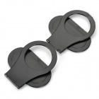Portable Foldable Hanging Bracket for Phone Charging - Black (2PCS)