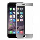 FineSource Electroplating Tempered Glass Screen Guard for IPHONE 6 PLUS - Transparent + Silver