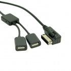 CY CA-038 Media In AMI MDI USB AUX Flash Drive Cable for Car VW AUDI