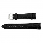 Alligator Pattern Split Leather Watchband for APPLE WATCH 38mm - Black