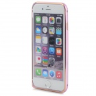 USAMS Protective Arc Aluminum Bumper Frame for IPHONE 6 - Golden + Deep Pink