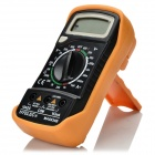 "HYELEC MAS830B Digitale 1,8 ""LCD-Multimeter w / Manual Range, Diodentest - Schwarz + Orange"