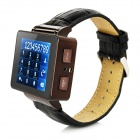 "1.8"" TFT 4-Band GSM Watch Phone w/ 1.21MB Memory, Torch, GPS - Black"
