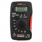 "Aimometer M320 Digital Handheld 1.5"" LCD Multimeter w/ Auto Range, Capacitance Test - Black + Red"