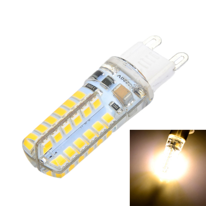 G9 6W Cross LED Bulb Lamp Warm White 3500K 600lm SMD 2835G9<br>Form  ColorWhite + Yellow + Multi-ColoredColor BINWarm WhiteModelM14MaterialPlastic + aluminumQuantity1 DX.PCM.Model.AttributeModel.UnitPower6WRated VoltageAC 220-240 DX.PCM.Model.AttributeModel.UnitConnector TypeG9Emitter TypeOthers,2835 SMDTotal Emitters48Actual Lumens500-600 DX.PCM.Model.AttributeModel.UnitColor Temperature12000K,Others,3000~3500KDimmableNoBeam Angle360 DX.PCM.Model.AttributeModel.UnitCertificationCE, RoHSPacking List1 x LED light bulb<br>